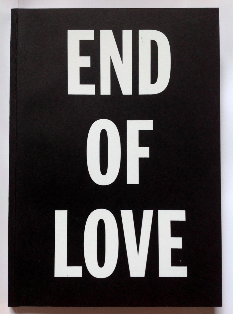 end of love cover