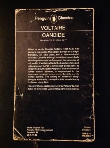 Candide back cover
